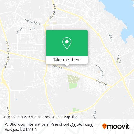 Al Shorooq International Preschool روضة الشروق النموذجية map