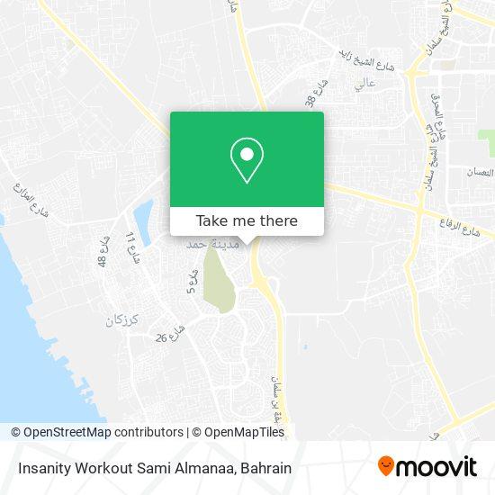Insanity Workout Sami Almanaa map