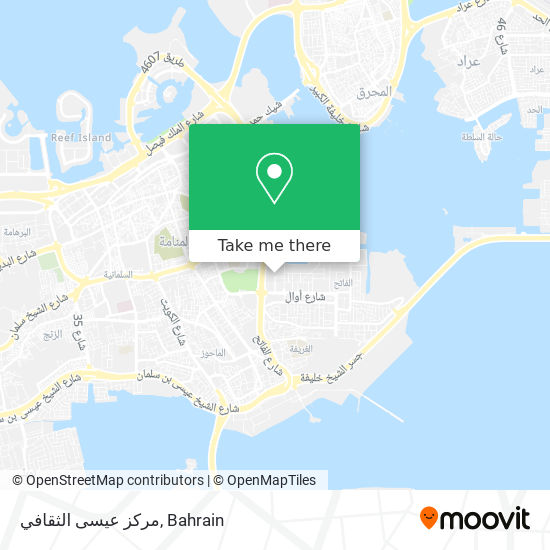 مركز عيسى الثقافي map