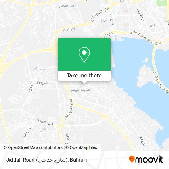 Jiddali Road (شارع جدعلي) map