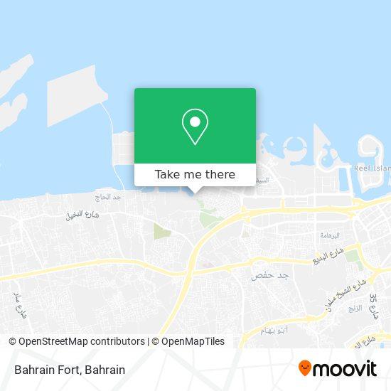 Bahrain Fort map