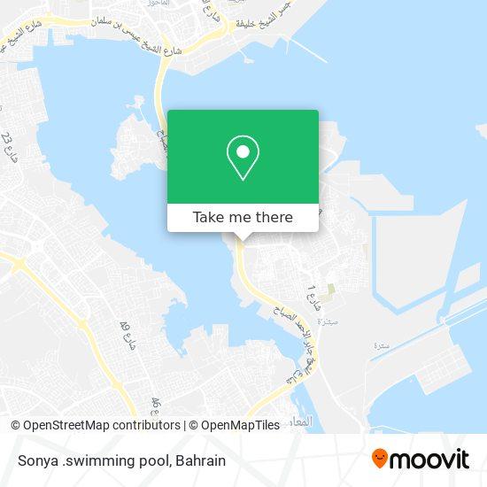 Sonya .swimming pool map