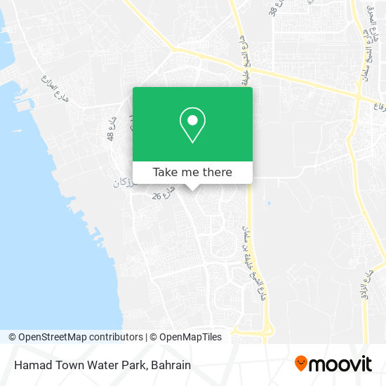 Hamad Town Water Park map