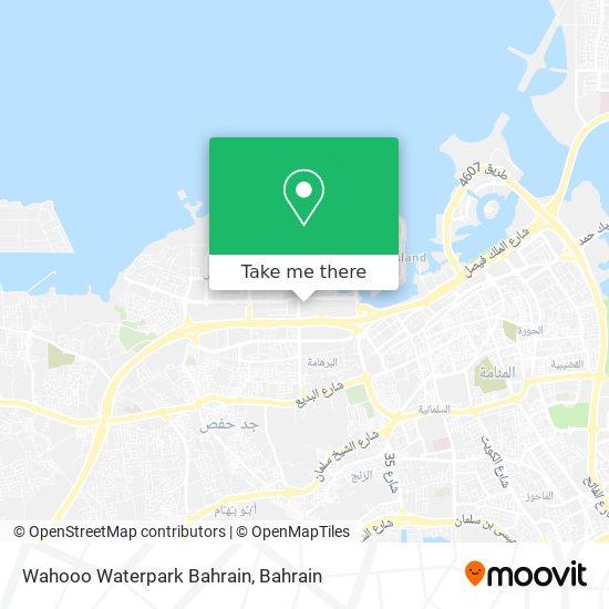 Wahooo Waterpark Bahrain map