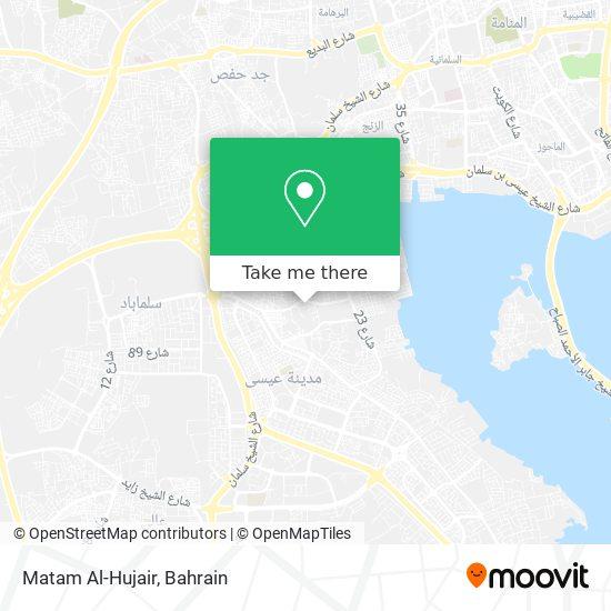 Matam Al-Hujair map