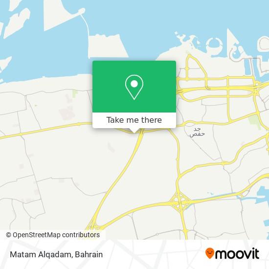 Matam Alqadam map
