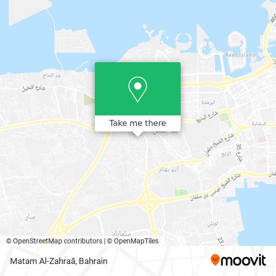 Matam Al-Zahraã map