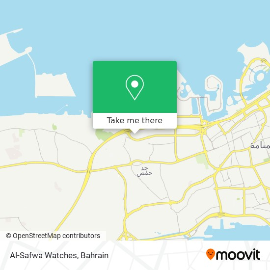 Al-Safwa Watches map