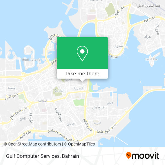 Gulf Computer Services map