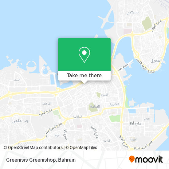 Greenisis Greenishop map