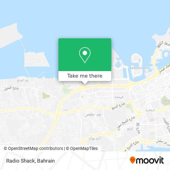 Radio Shack map