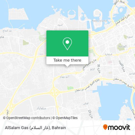 AlSalam Gas (غاز السلام) map