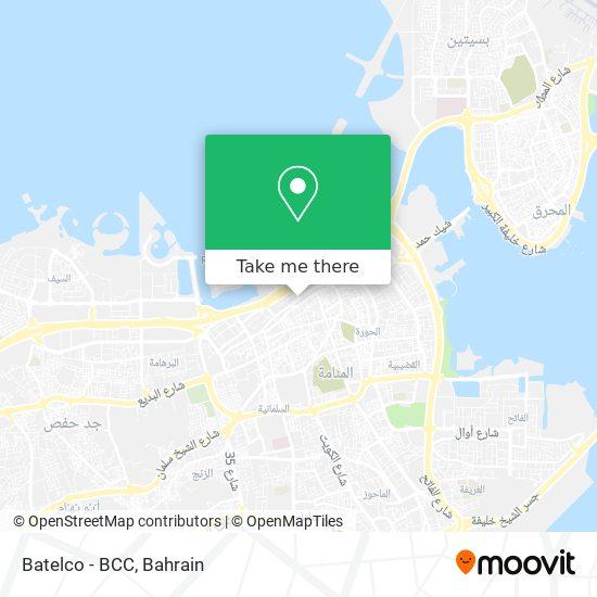 Batelco - BCC map