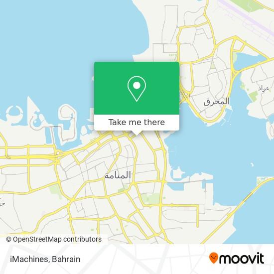 iMachines map