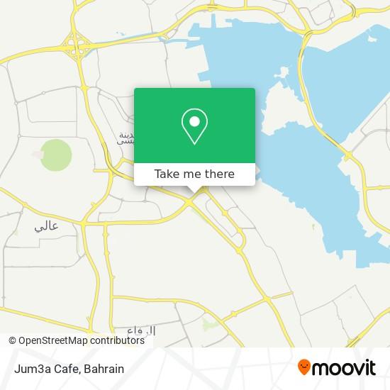Jum3a Cafe map
