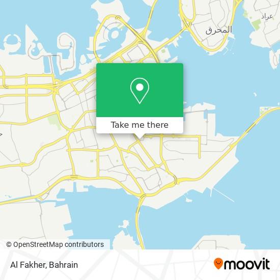 Al Fakher map