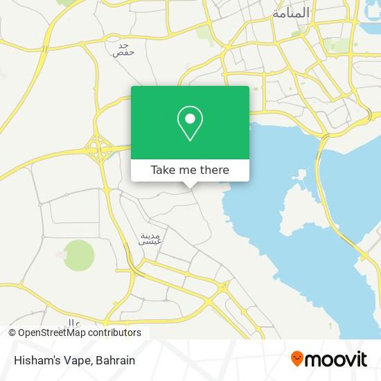 Hisham's Vape map