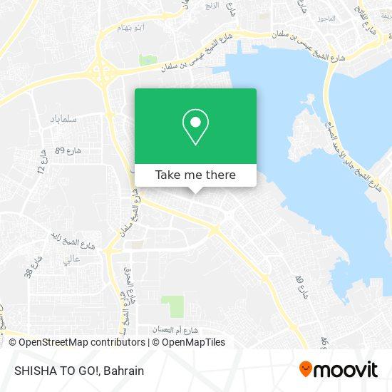 SHISHA TO GO! map