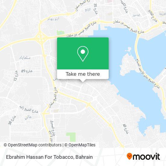 Ebrahim Hassan For Tobacco map