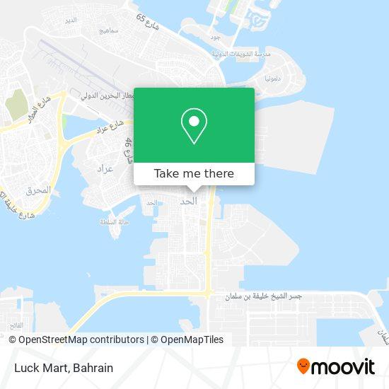 Luck Mart map
