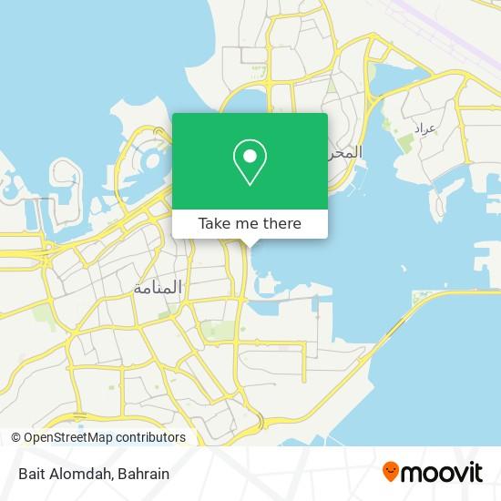 Bait Alomdah map