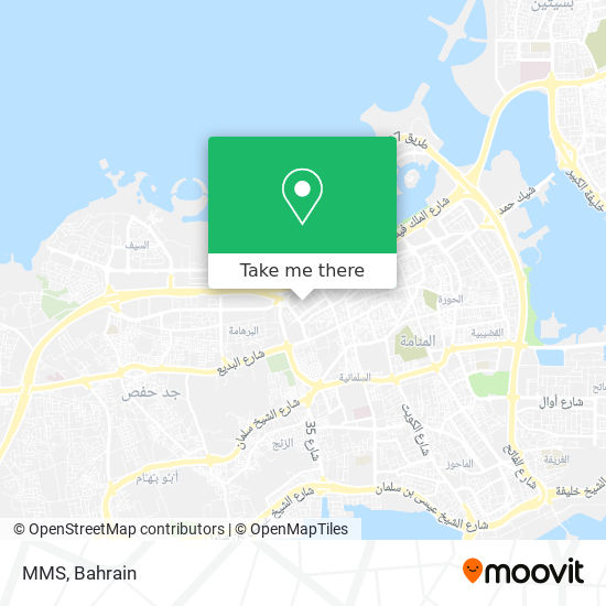 MMS map