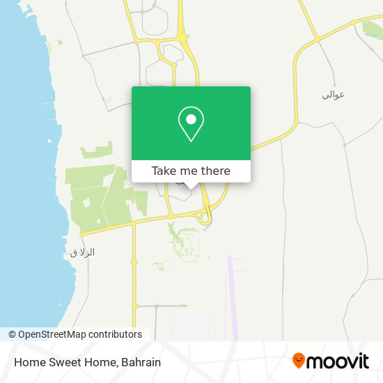 Home Sweet Home map