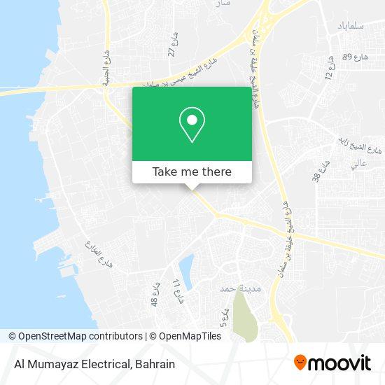 Al Mumayaz Electrical map