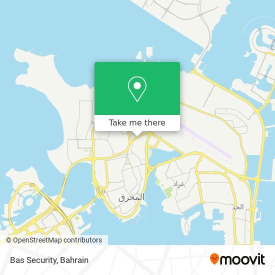 Bas Security map