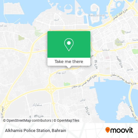 Alkhamis Police Station map