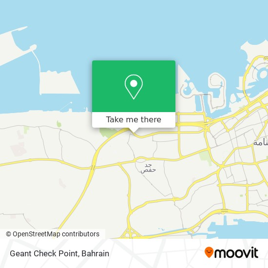 Geant Check Point map