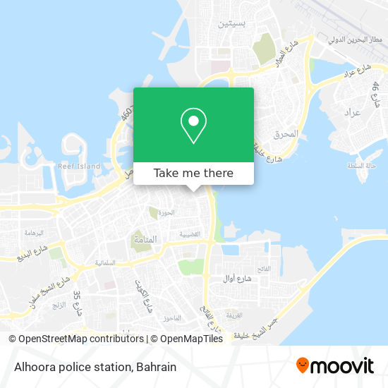 Alhoora police station map