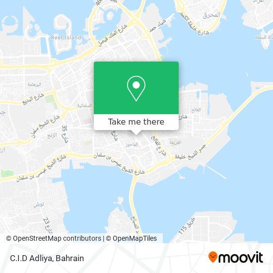 C.I.D Adliya map