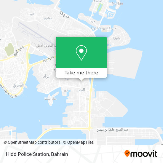 Hidd Police Station map