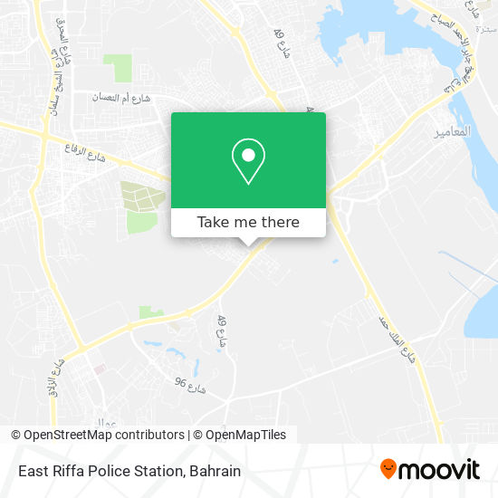 East Riffa Police Station map
