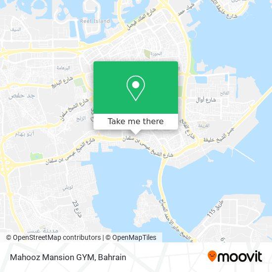 Mahooz Mansion GYM map