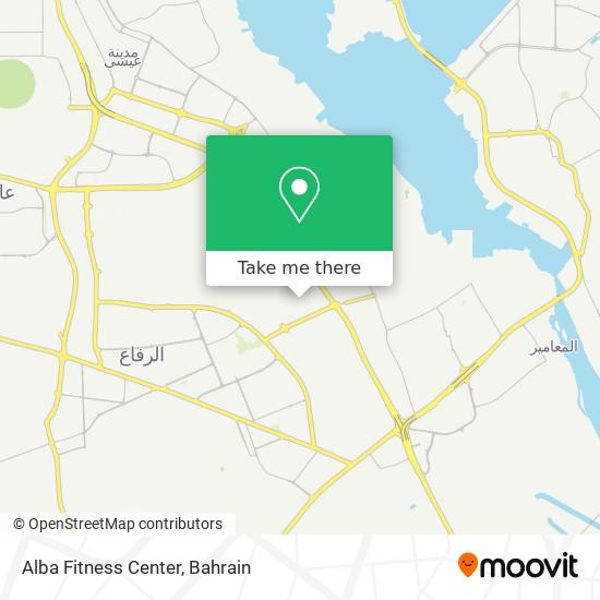 Alba Fitness Center map