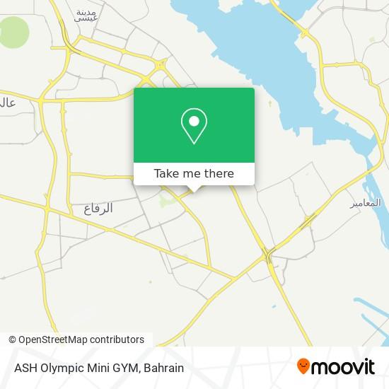 ASH Olympic Mini GYM map