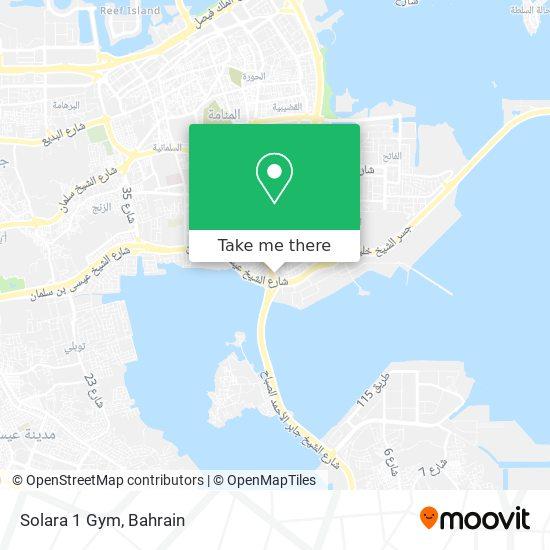 Solara 1 Gym map