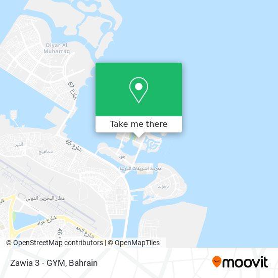 Zawia 3 - GYM map