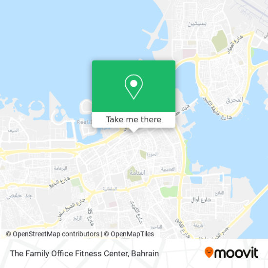 The Family Office Fitness Center map