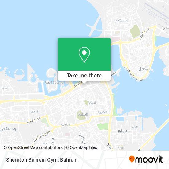 Sheraton Bahrain Gym map