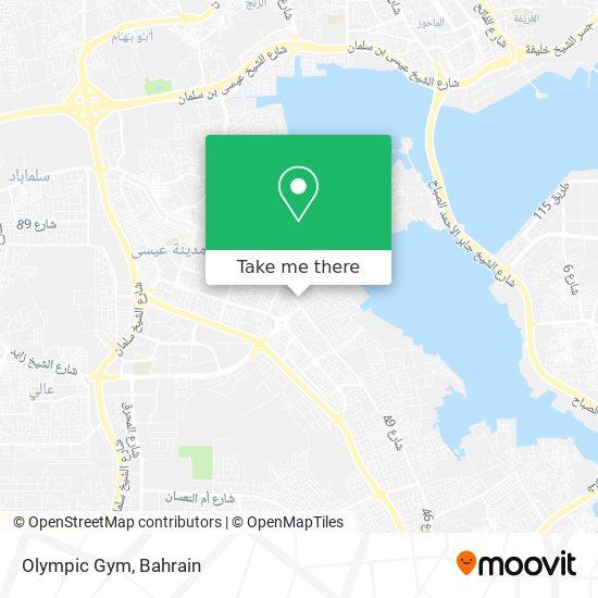 Olympic Gym map