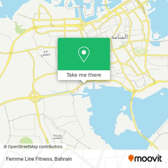 Femme Line Fitness map