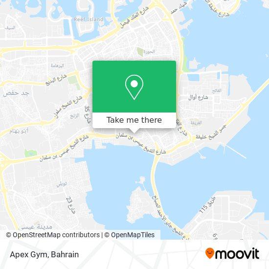Apex Gym map