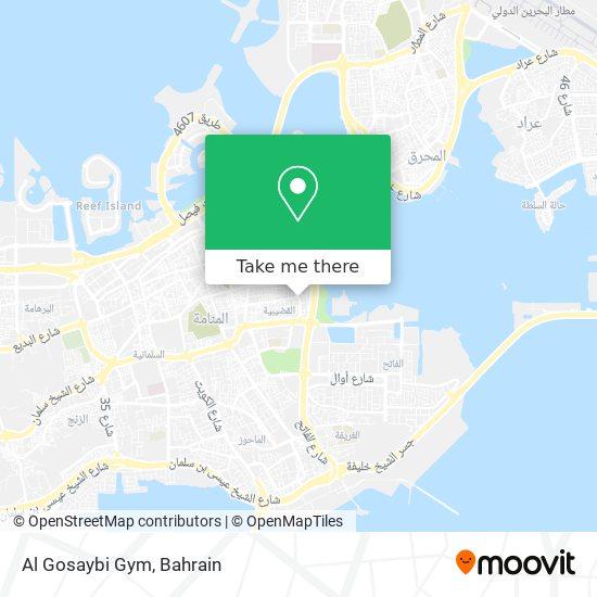 Al Gosaybi Gym map