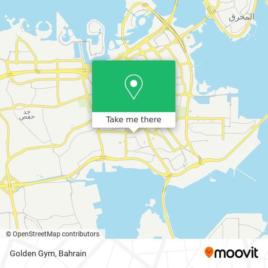 Golden Gym map