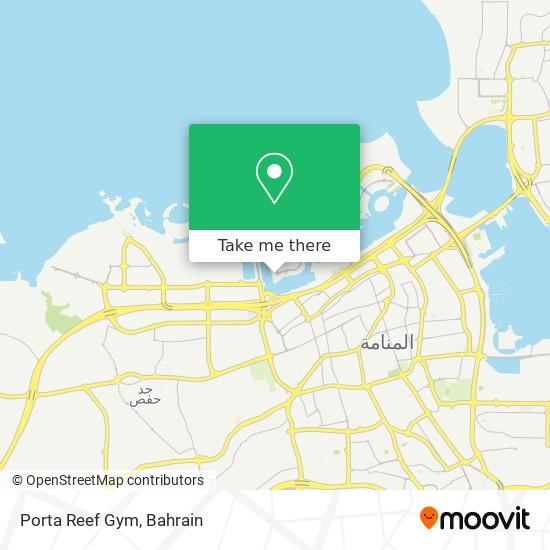 Porta Reef Gym map