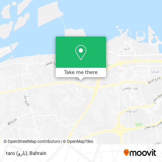 taro (تارو) map