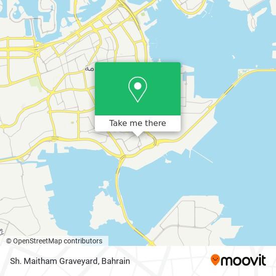 Sh. Maitham Graveyard map